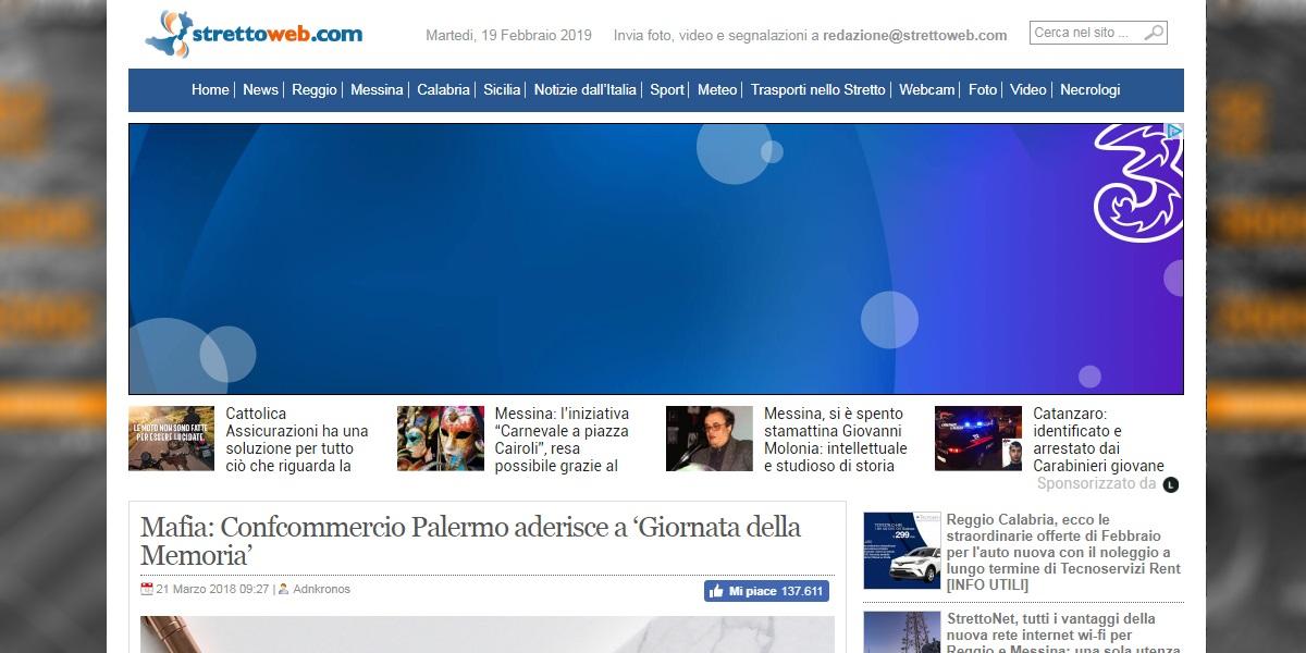 Confcommercio Palermo aderisce a Giornata della Memoria
