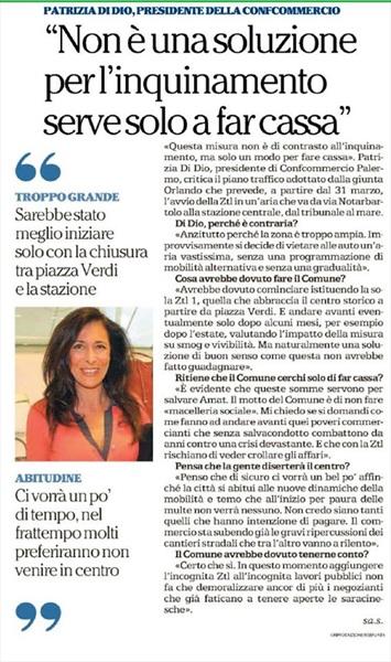 La ZTL a Palermo - non e' una soluzione per l'inquinamento, serve solo a far cassa