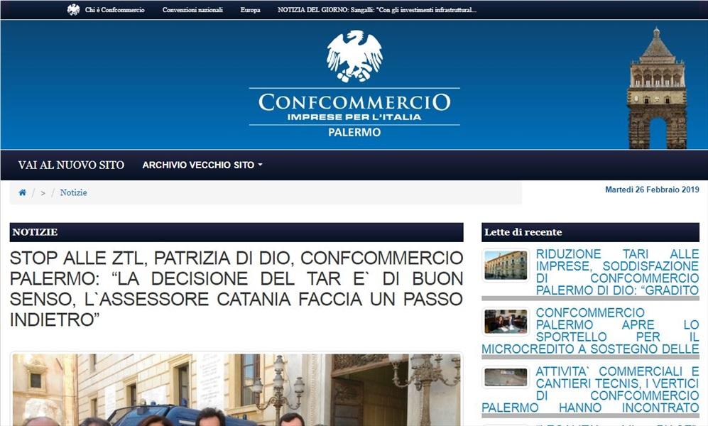 Stop alle ZTL, Patrizia Di Dio, Confcommercio Palermo: la decisione del tar e` di buon senso, l'assessore catania faccia un passo indietro