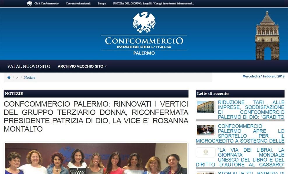 Confcommercio Palermo: rinnovati i vertici del gruppo terziario donna, riconfermata presidente Patrizia Di Dio.