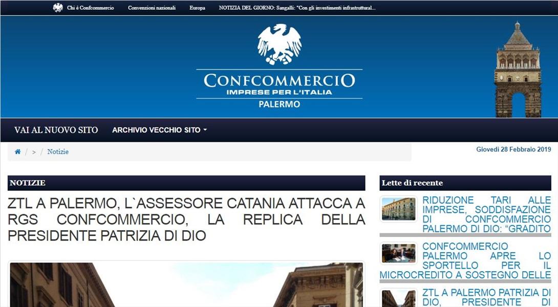 L'assessore Catania attacca Confcommercio; la replica della Presidente Di Dio