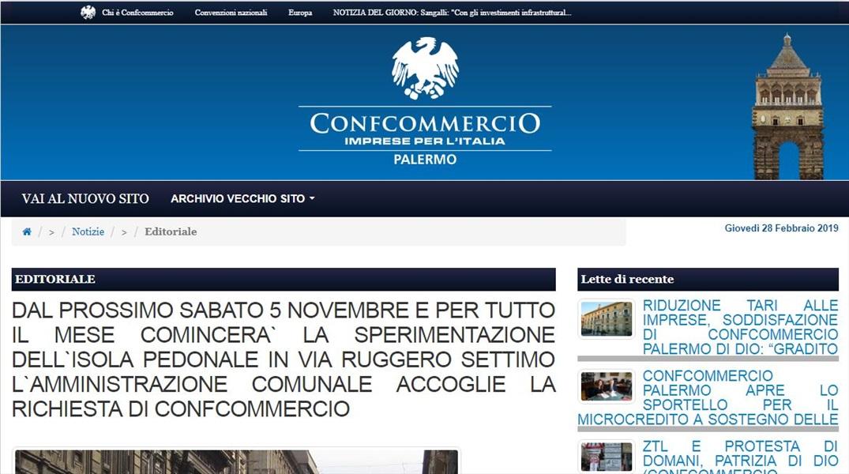 Dal 5 novembre sperimentazione via Ruggero settimo pedonale