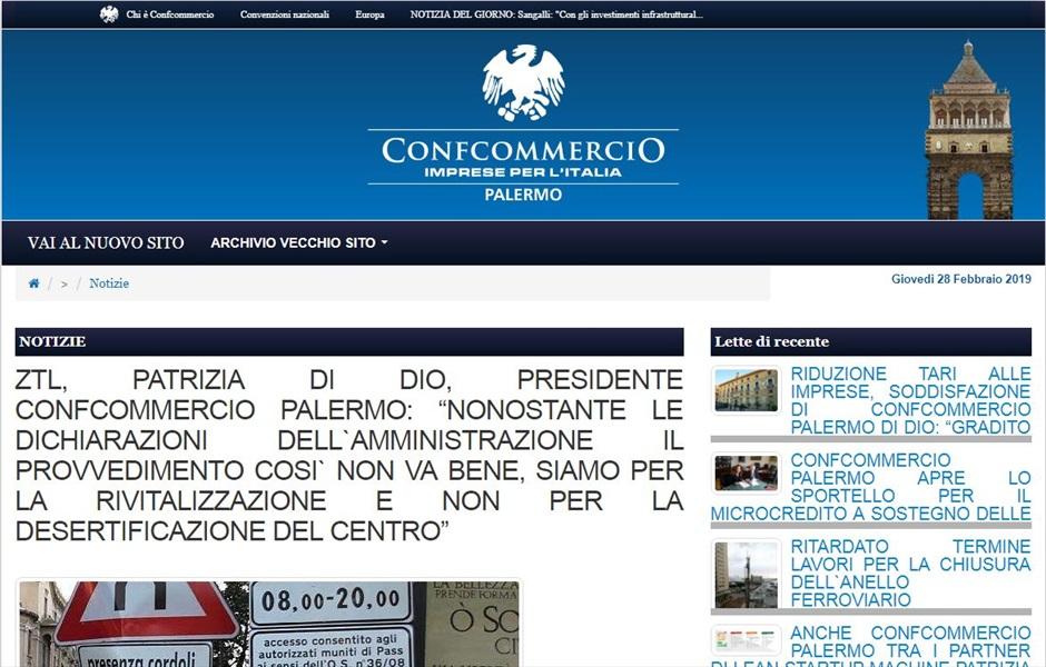 ZTL, Patrizia Di Dio, presidente Confcommercio Palermo: nonostante le dichiarazioni dell`amministrazione il provvedimento cosi` non va bene, siamo per la rivitalizzazione e non per la desertificazione del centro