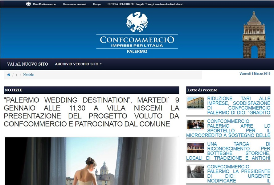 Primo corso per wedding planner & wedding destination