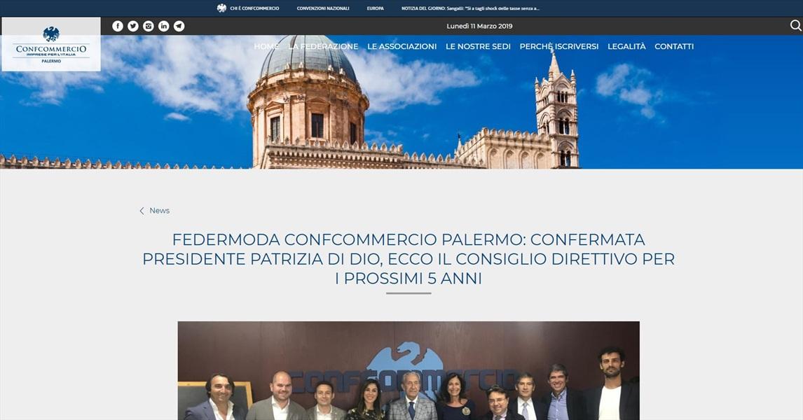 Federmoda Confcommercio Palermo: confermata presidente Patrizia Di Dio, ecco il consiglio direttivo per i prossimi 5 anni