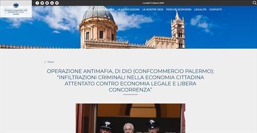 Operazione antimafia, Di Dio Confcommercio Palermo