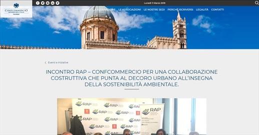 Incontro RAP– Confcommercio per una collaborazione costruttiva che punta al decoro urbano all'insegna della sostenibilità ambientale