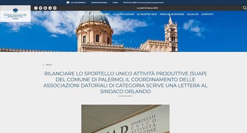 Rilanciare lo sportello unico attività produttive (suap) del comune di Palermo, il coordinamento delle associazioni datoriali di categoria scrive una lettera al sindaco Orlando