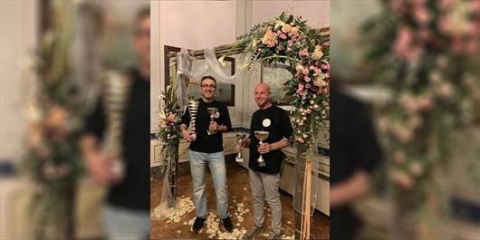 Coppa Sicilia Federfiori Confcommercio: vincono i palermitani Roberto Motisi e Gaspare Serra