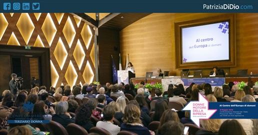 Edizione n.6 del Forum Donne motore della ripresa: Al centro dell'Europa di domani