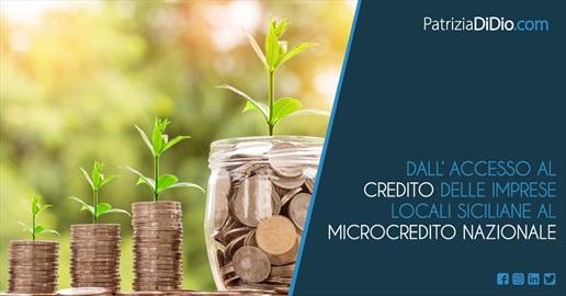 Patrizia di Dio - Dall'accesso al credito delle imprese locali siciliane al microcredito nazionale