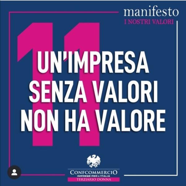 Manifesto TerziarioDonna Punto 11
